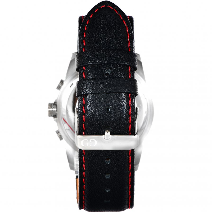 Giacomo Design Trepuntato Black/Black leather