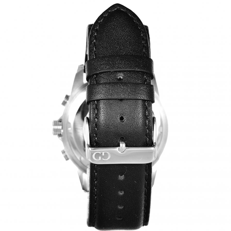 Giacomo Design Trepuntato White/Black leather