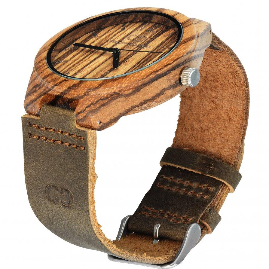 Giacomo Design Chiusa in legno Zebra wood