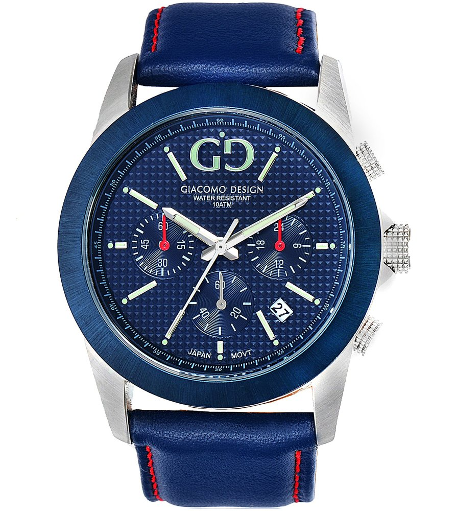 Giacomo Design Trepuntato Blue/Blue leather