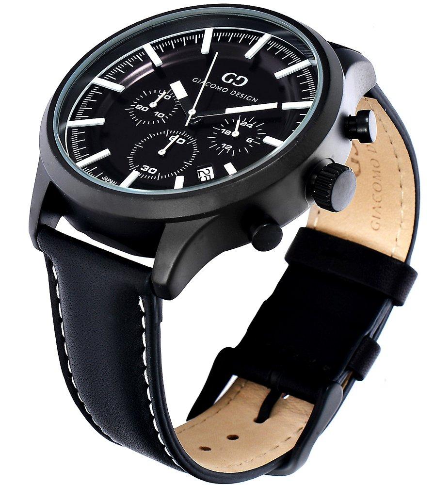 Giacomo Design Classico Black/Black Leather