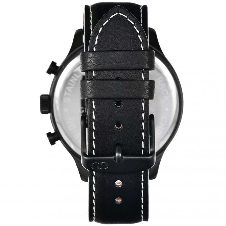 Giacomo Design Classico Black/Black Leather