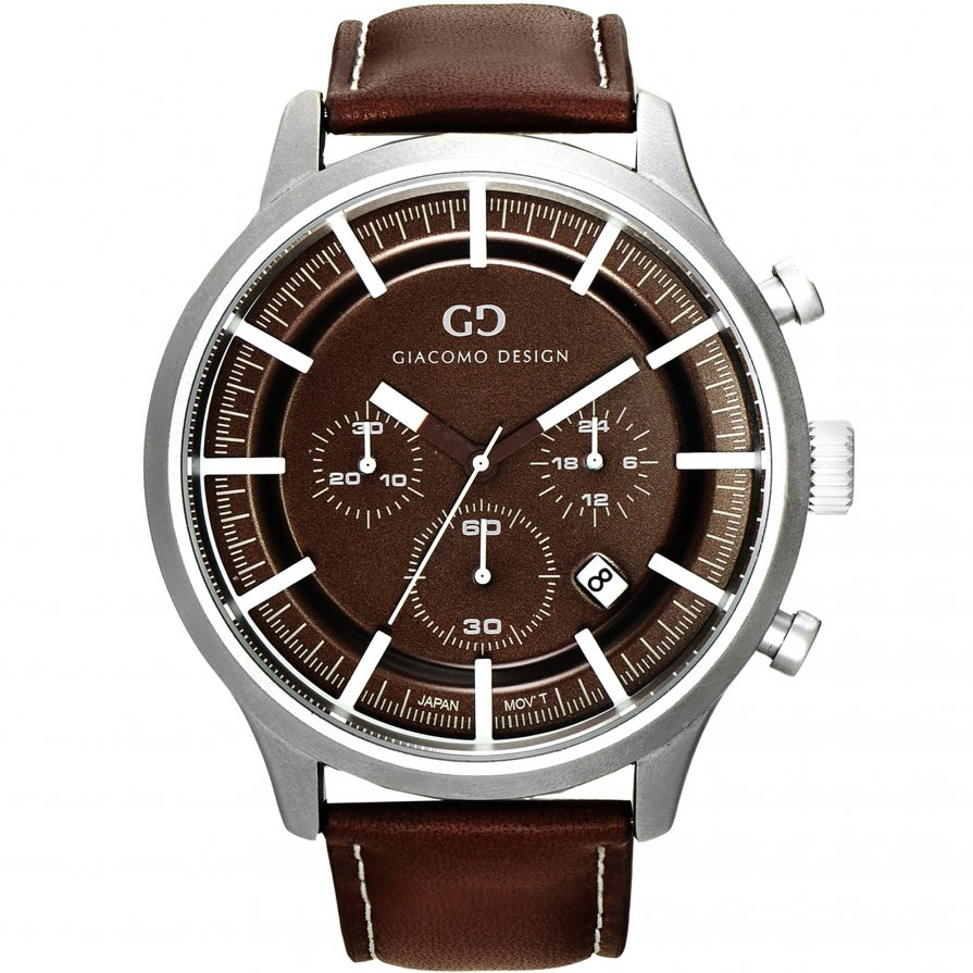 Giacomo Design Classico Brown/Brown Leather