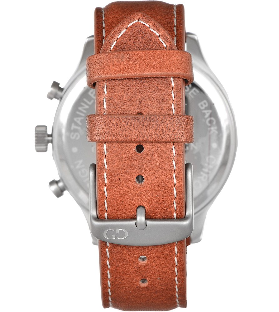 Giacomo Design Classico Cream/Brown Leather