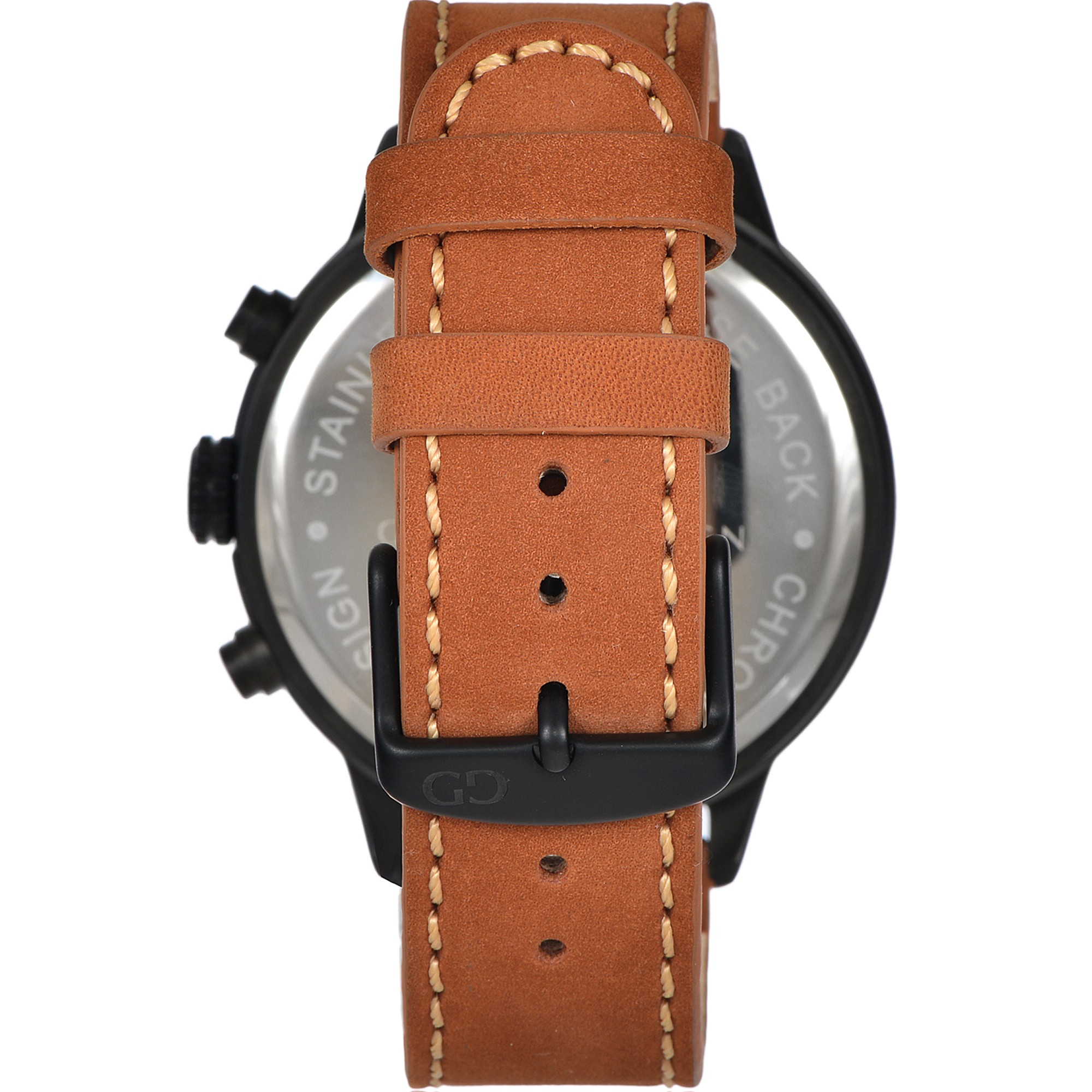Giacomo Design Sportiva Black/Brown leather
