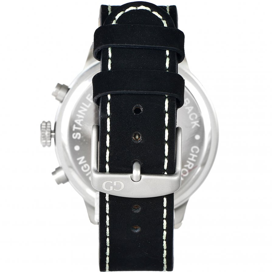 Giacomo Design Sportiva Black/Black leather