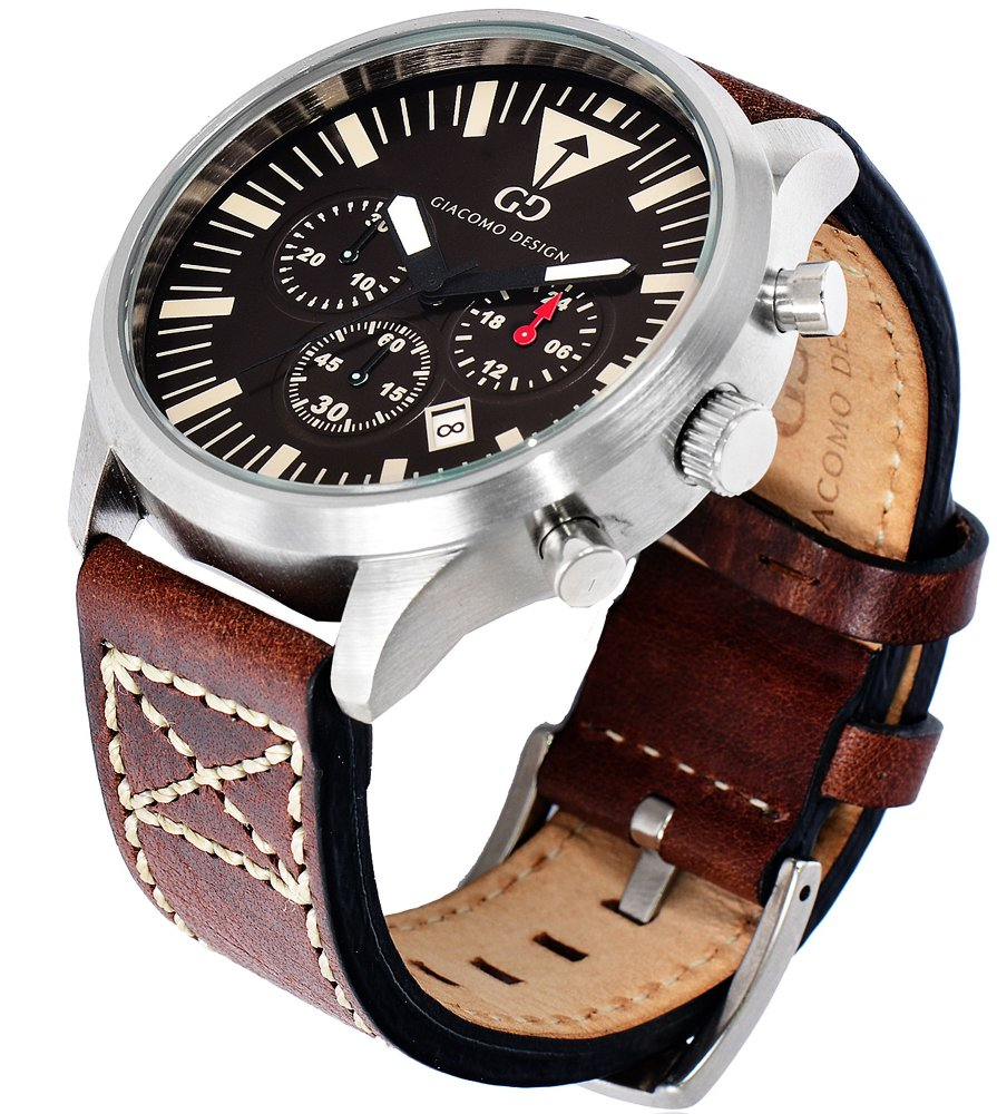 Giacomo Design Sportiva Brown/Brown leather