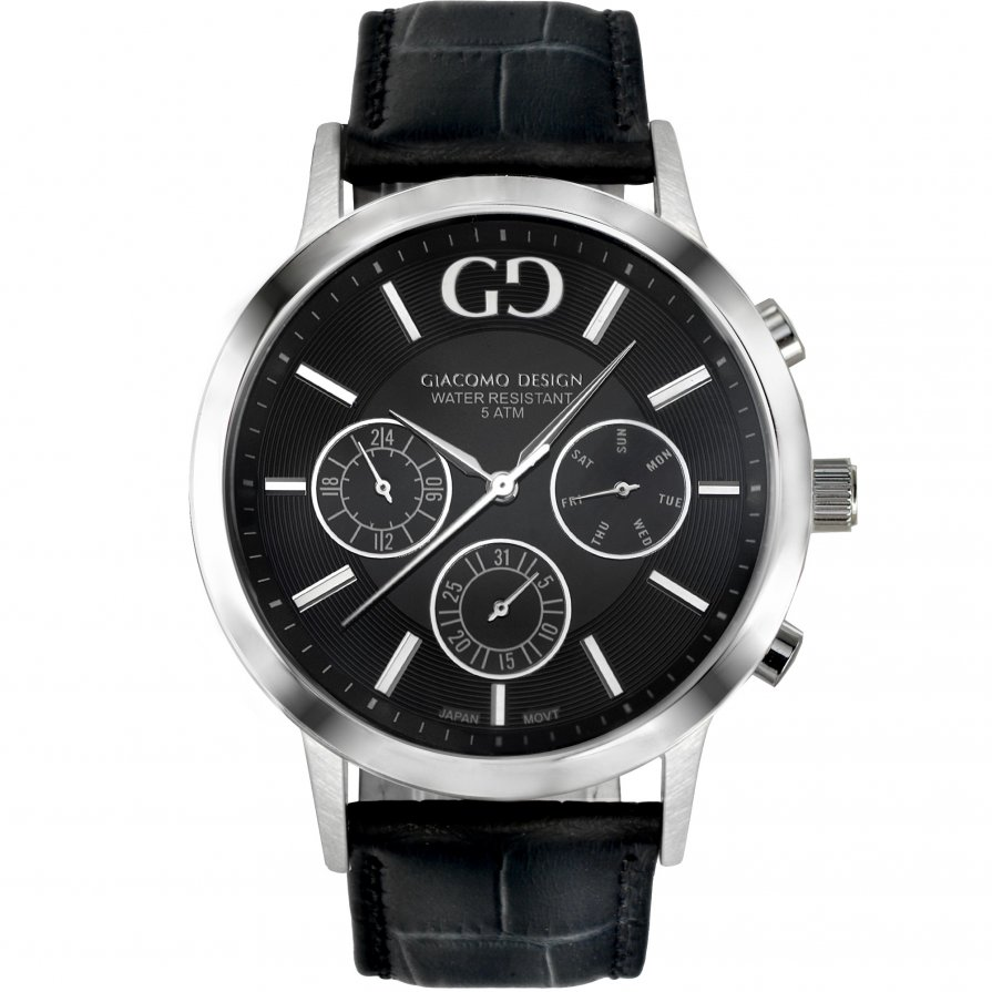 Giacomo Design Leggibile Black/Black leather
