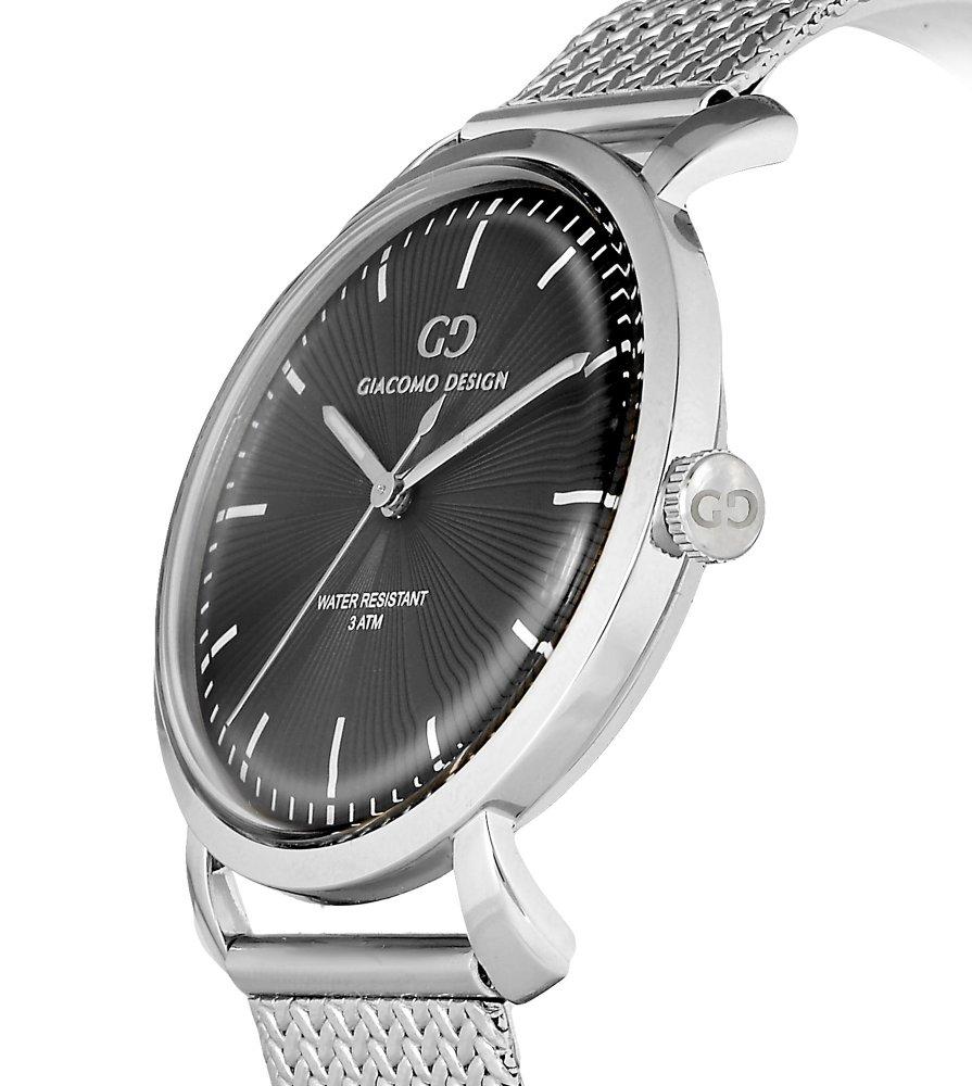 Elegant men's watch Giacomo Design GD9002 bracelet