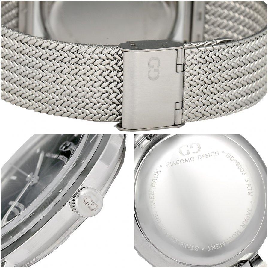 Elegant men's watch Giacomo Design GD9001 bracelet