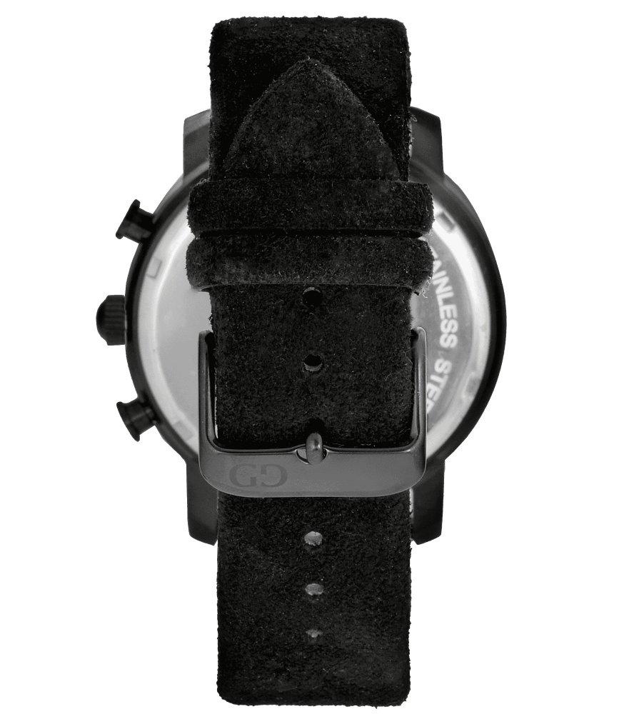 Elegant men's watch Giacomo Design GD9006 leather strap