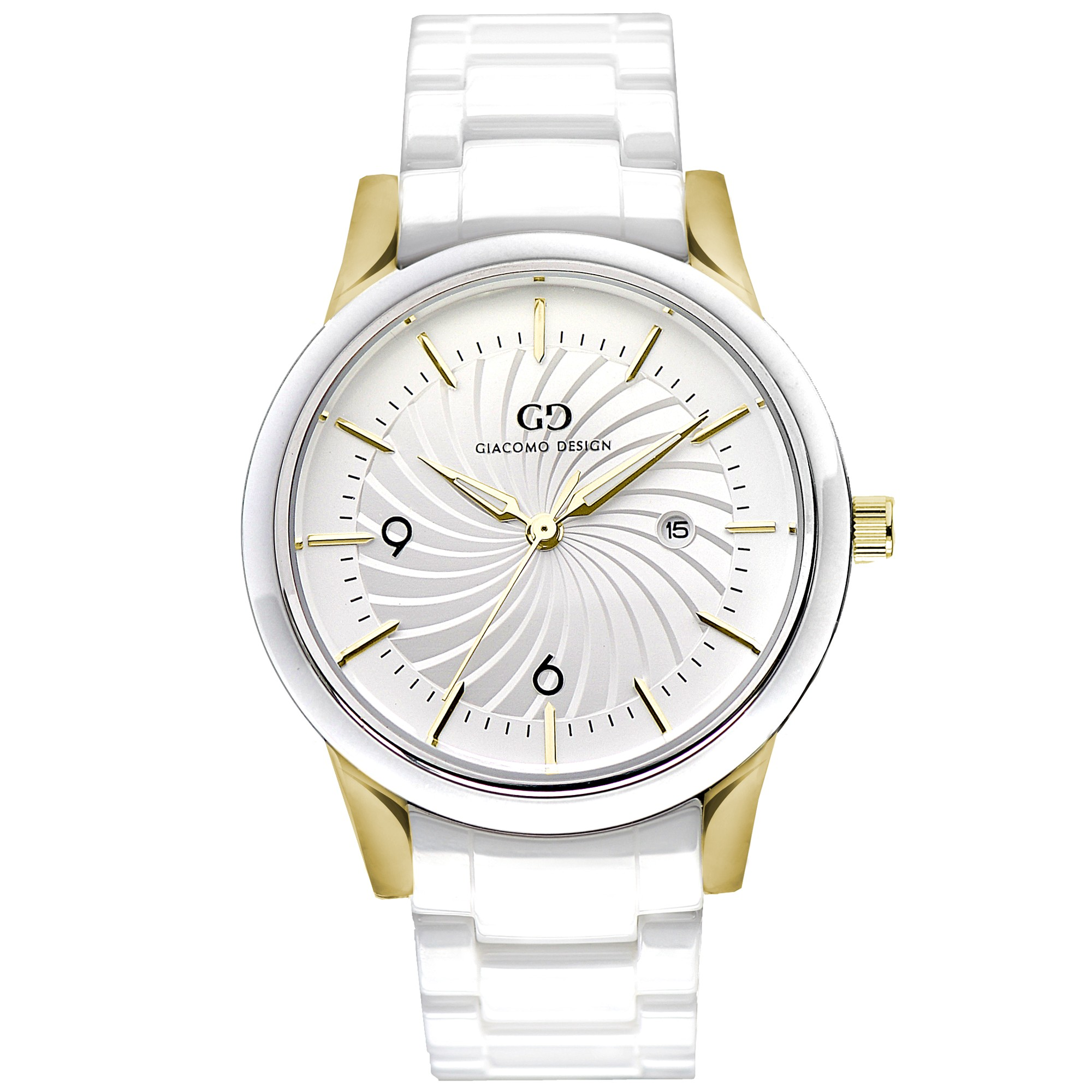 watches design white ceramica watch giacomo gold whitegold