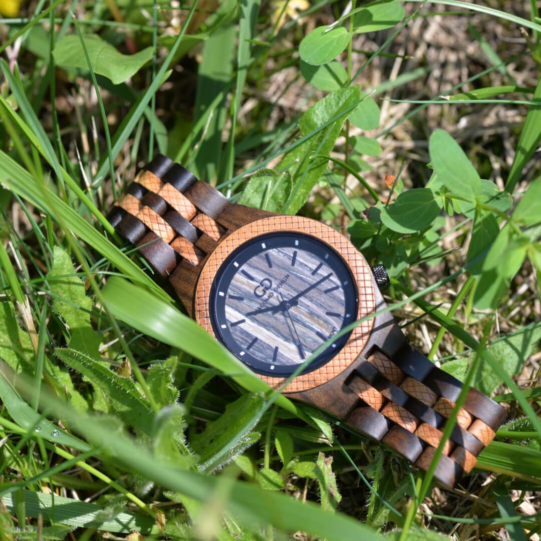 Codzienne drewniane zegarki Giacomo Design