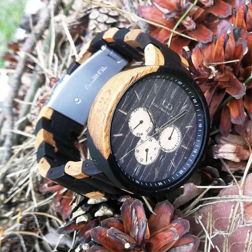Drewniane zegarki Giacomo Design idealne uzupełnienie stylu casual